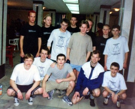 Команда Novgorod Juniors натурнире Лорд Новгород 2002 (ОД, 13/13)