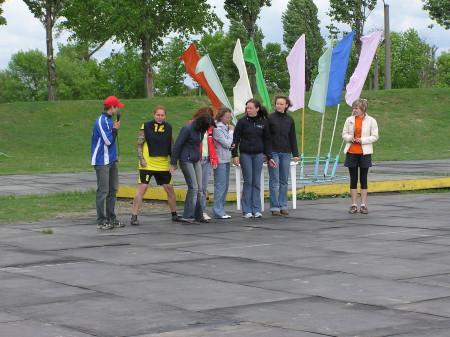 Команда Молодые натурнире Брест без границ 2006 (ЖД, 2/5)