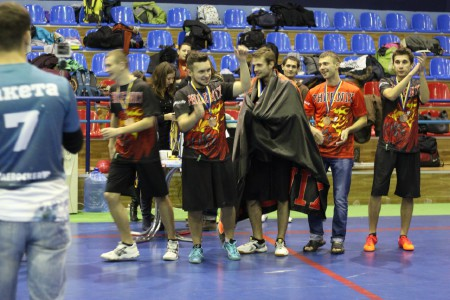 Команда Phoenix Black на турнире Lubart Ultimate Cup 2013 (ОД, 3/10)