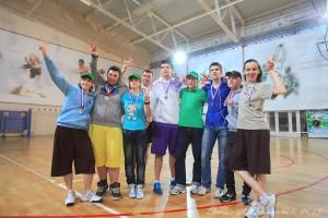 Команда Биозон натурнире Весеннее обострение 2013 (Микс дивизион, 2/10)