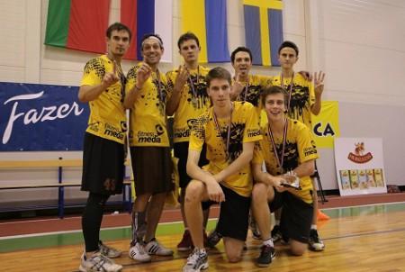 Команда OksiDiskO натурнире Rigas Rudens 2013 (ОД, 1/20)