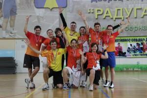 Команда Бивни натурнире Кубок Дубны 2014 (Микс дивизион, 2/12)