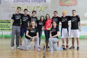Команда Позитрон натурнире Кубок Дубны 2014 (Микс дивизион, 4/12)