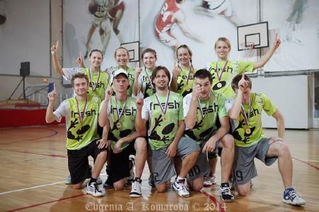 Команда Фреш натурнире Миксомания 2014 (Микс дивизион, 1/14)