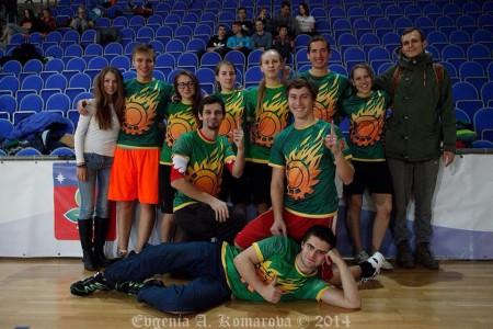 Команда Evil Ice Cream натурнире Миксомания 2014 (Микс дивизион, 6/14)
