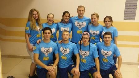 Команда Mice натурнире Миксомания 2014 (Микс дивизион, 8/14)