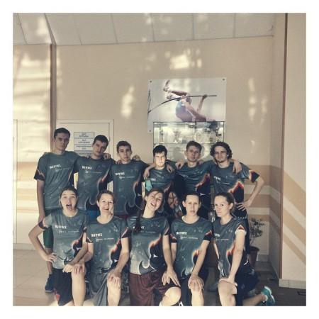 Команда Бивни натурнире Миксомания 2014 (Микс дивизион, 11/14)