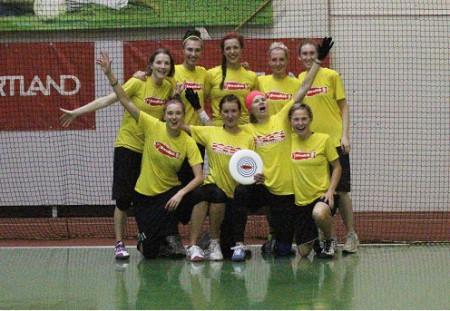 Команда Swedish Fish натурнире Rigas Rudens 2013 (ЖД, 1/12)