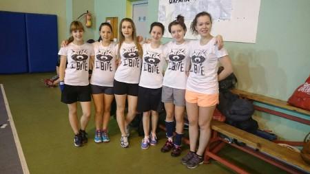 Команда СПбГУКИ натурнире Рождественский турнир 2015 (ЖД, 8/8)