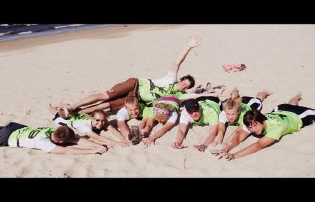 Команда Fresh натурнире Jurmalas Bite 2012 (Микс дивизион, 7/9)