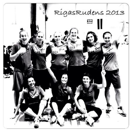 Команда Sky Pro натурнире Rigas Rudens 2013 (ЖД, 7/12)