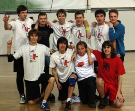 Команда ЮПитер 2 натурнире зАпуск 2009 (ОД, 2/16)