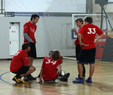 Команда Флаинг Степс натурнире зАпуск 2009 (ОД, 10/16)