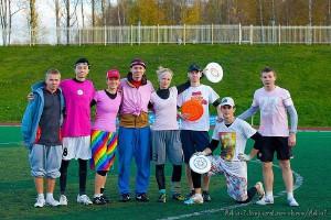 Команда Глаза натурнире Yaroslavl Hat 2012 (Микс дивизион, 2/10)