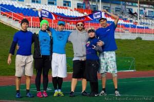 Команда Люди Микс натурнире Yaroslavl Hat 2012 (Микс дивизион, 6/10)