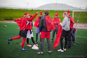 Команда Flash натурнире Yaroslavl Hat 2012 (Микс дивизион, 8/10)