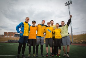 Команда Страна лимония натурнире Yaroslavl Hat' Spring 2013 (Микс дивизион, 9/10)