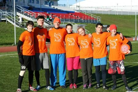 Команда J8 натурнире Yaroslavl Hat' Autumn 2013 (Микс дивизион, 3/10)