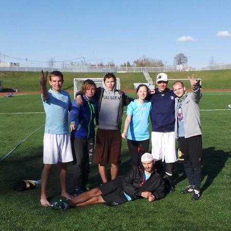 Команда Блеск! натурнире Yaroslavl Hat' Spring 2014 (Микс дивизион, 2/10)