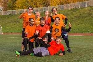 Команда Спили мушку, Джо! натурнире Yaroslavl Hat' Autumn 2014 (Микс дивизион, 1/10)