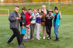 Команда Бандиты! ИииХА! Бах-Бах! натурнире Yaroslavl Hat' Autumn 2014 (Микс дивизион, 3/10)