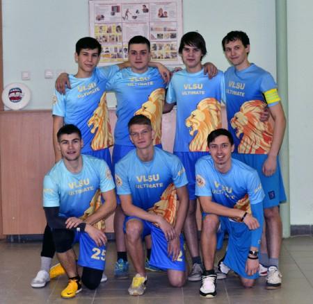 Команда ВлГУ натурнире Летящий SpiNN 2014 (ОД, 9/12)