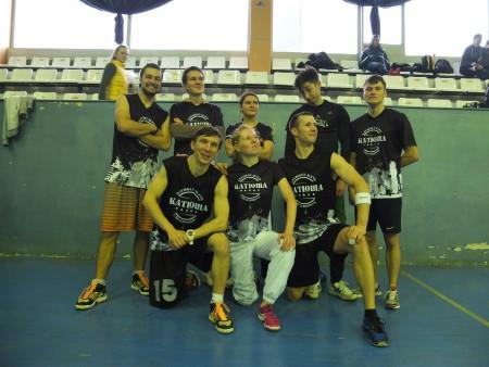 Команда Катюша black натурнире Точка Отсчета 2014 (ОД, 7/12)