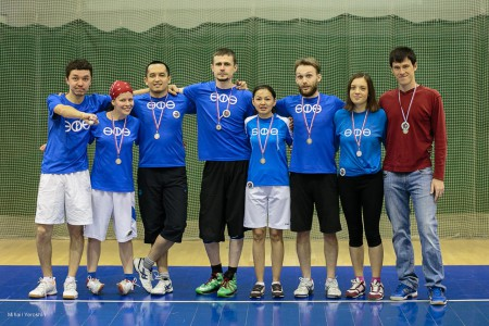 Команда ӨФӨ натурнире Love Ultimate 2014 (2 дивизион, 2/8)