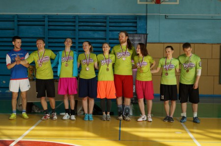 Команда Дружина натурнире IV Кубок ВГПУ 2014 (ОД, 3/8)