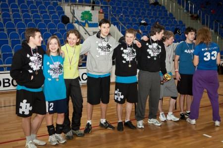 Команда NordPuzzle натурнире Позитрон 2012 (Микс дивизион, 1/18)