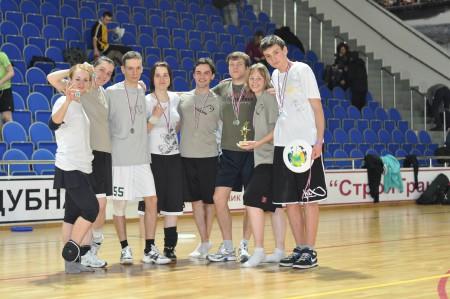 Команда BioZone натурнире Позитрон 2012 (Микс дивизион, 2/18)