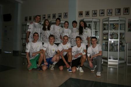Команда Snatch Up натурнире Позитрон 2012 (Микс дивизион, 4/18)