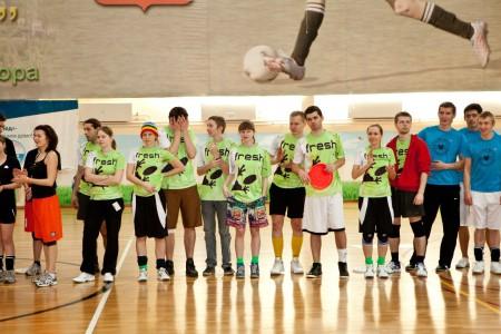 Команда Fresh натурнире Позитрон 2012 (Микс дивизион, 10/18)