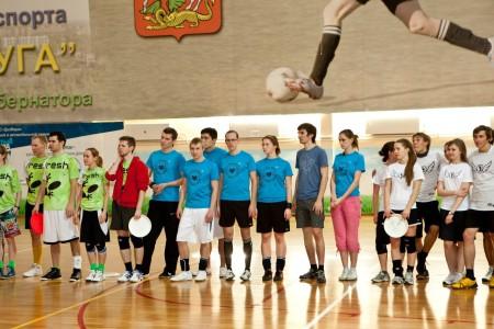 Команда Flying Mice натурнире Позитрон 2012 (Микс дивизион, 15/18)