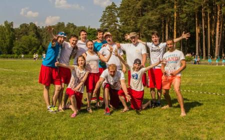 Команда ФряCREW натурнире 1 этап МЧР 2014 (Микс дивизион, 12/12)