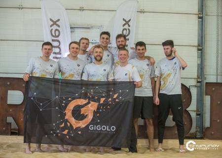 Команда Gigolo натурнире Winter Beach 2020 (ОД, 4/16)