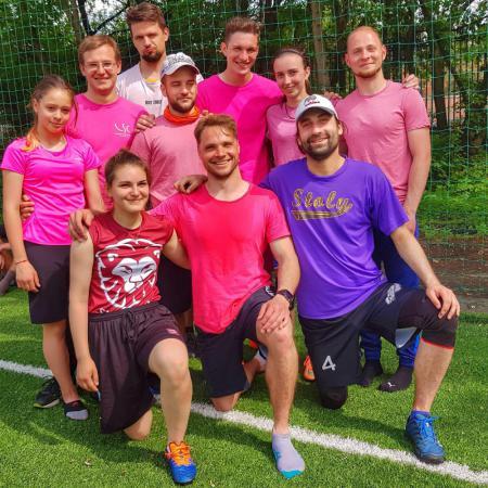 Команда Фрисби-кола натурнире МФЛД 2019 (МД, 6/10)