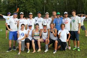 Команда Просим Бросить натурнире Позитрон 2012 (2 этап МЧР) (Микс дивизион, 1/7)