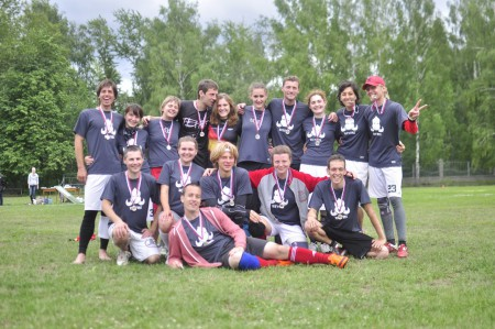 Команда Бивни натурнире Позитрон 2012 (1 этап МЧР) (Микс дивизион, 2/9)