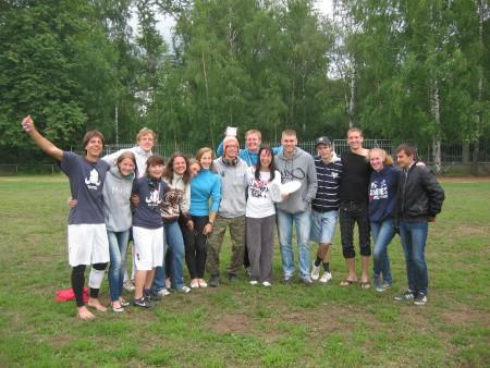 Команда Chasers натурнире Позитрон 2012 (1 этап МЧР) (Микс дивизион, 4/9)