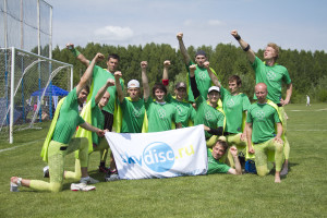 Команда Лаки Грасс натурнире Брест без границ 2011 (ОД, 4/13)