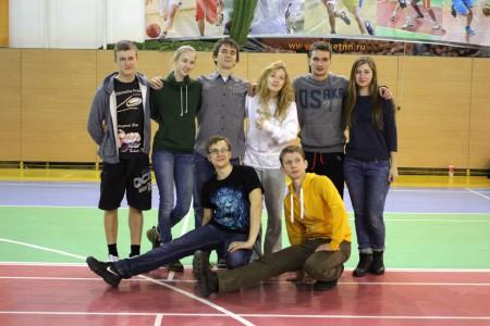 Команда НГТУ натурнире Летящий SpiNN 2015 (ОД, 5/14)