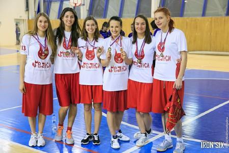 Команда Белки натурнире Женская лига | IRONSIX | финал (Вторая Лига, 3/7)