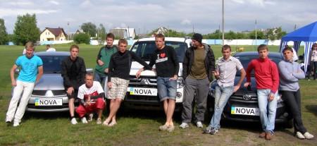 Команда Нова натурнире Брест без границ 2011 (ОД, 6/13)