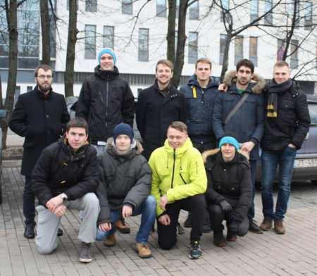 Команда Sirocco Ultimate натурнире Лорд Новгород 2015 (ОД, 25/32)
