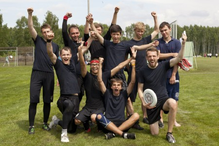 Команда Рухавiк натурнире Брест без границ 2013 (ОД, 5/11)