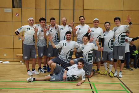 Команда DiscoboyEZ натурнире Winterflug 2015 (ОД, 1/14)