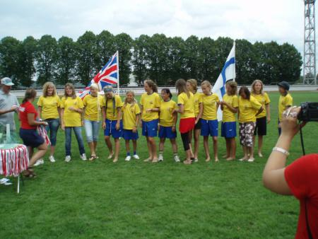 Команда Stockholm Ultimate натурнире North East 2006 EUCR (ЖД, 5/8)