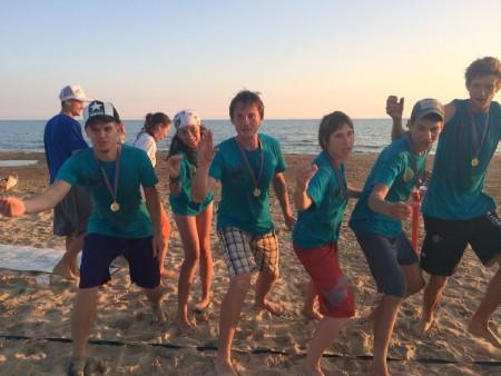 Команда A6 натурнире Кубанский Борщ 2014 (Хэт, 1/8)