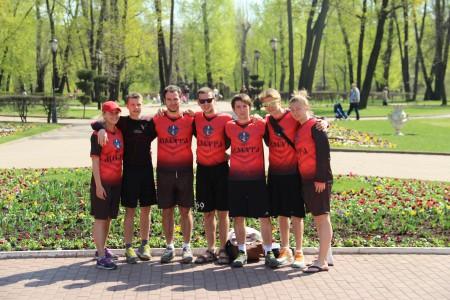 Команда ВГПУ натурнире Кубок Конструкторов 2014 (ОД, 7/18)